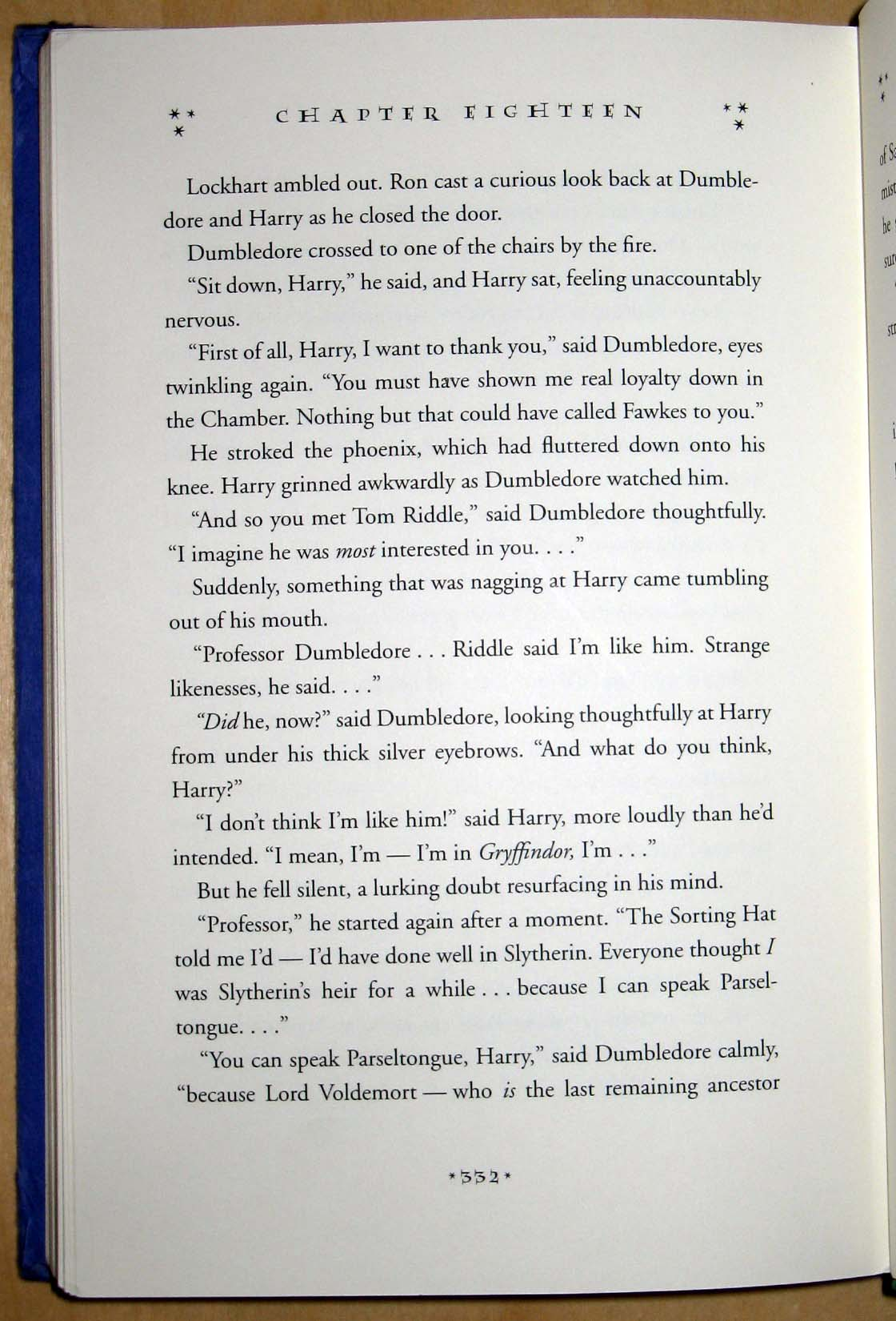 Harry Potter Book Lengths Pages : Harry potter and the chamber of secrets